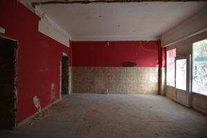 Vorderer Raum des ehemaligen Cafés